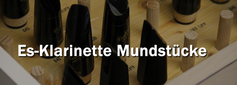 Es-Klarinette Mundstücke