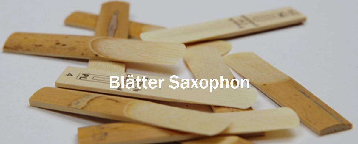 Blätter für Saxophon
