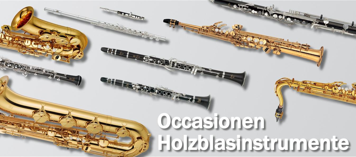 Occasionen Holzblasinstrumente
