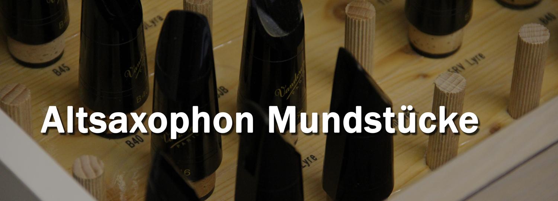 Altsaxophon Mundstücke